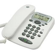 摩托罗拉 CT2C 有绳电话机免电池耐摔家用办公座机(白色)