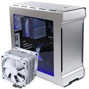 追风者 Evolv ATX银色全铝机箱(PK515E)+CPU散热器(PH-TC12DX)优惠套装