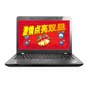 ThinkPad 联想 轻薄系列14英寸商务游戏笔记本电脑 E460(20ETA00ECD)(i5-6200 8G 500G 2G独显 Win10 )
