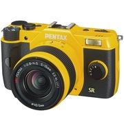 宾得  Q7 Lens Kit(W/5-15/F2.8-4.5) 微型单电套机 (黄色)