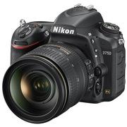 尼康 D750 单反套机 ( AF-S 24-120mm f/4G 镜头 + 50mm 1.8D 镜头 )
