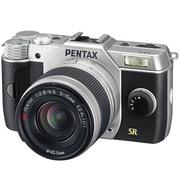 宾得  Q7 Lens Kit(W/5-15/F2.8-4.5) 微型单电套机(银色)