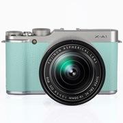 富士 X-A1 +XC16-50mm  薄荷绿 礼盒装 APS-C CMOS 可换镜头 Wi-Fi传输 3.0英寸翻折屏