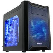 GAMEMAX 游戏帝国 天网游戏机箱 MATX小板专用机箱(侧透/双层结构/支持320mm长显卡/支持120mm水冷)