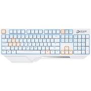 达尔优 DK300 游戏机械键盘 104键背光电竞 黑轴