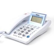 美思奇(MSQ) 2060来电显示电话机/特大铃声/超大字体/自动IP/家用办公座机(白色)
