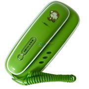宝泰尔 k022 座挂两用 壁挂式电话机 绿色