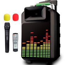 索爱 SA-T20 便携式移动拉杆户外音响 大功率电瓶插卡广场舞音箱产品图片主图