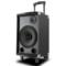 索爱 SA-T10 便携式移动拉杆户外音响 蓝牙电瓶插卡广场舞音箱(黑色)产品图片4