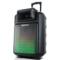 索爱 SA-T22 便携式移动拉杆户外音响 大功率蓝牙电瓶插卡广场舞音箱(黑色)产品图片2