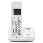 中诺 GH21 来电报号/低电报警数字单无绳电话机 白色