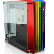 迎广  H-Frame mini ITX开放式机箱/铝合金/(USB3.0 *2 )限量彩虹版