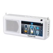 得胜 E18 无线扩音器多功能大功率高清视频多媒体唱戏机 白