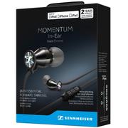 森海塞尔  MOMENTUM In-Ear I Black Chrome 苹果版 入耳式耳机 低音强劲 黑铬色