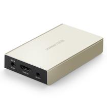 绿联 40280 HDMI网线延长 HDMI转RJ45转换器 高清转网线分配器 单网线一对多转换连接器 发射端产品图片主图