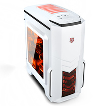 大水牛 优胜美地2 侧透版 白色 MATX游戏机箱(原生U3/全兼容SSD/大侧透/水冷)产品图片主图