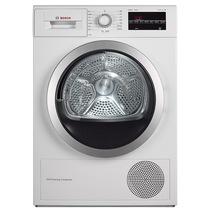 博世  WTW875600W 9公斤进口干衣机 LED触摸宽屏 热泵 原装进口(白色)产品图片主图