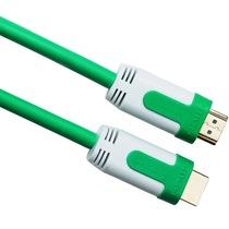 弗吉凯柏(cabos) F02103 HDMI线高清线1.4版3D电脑连接电视数据线 hdmi视频线3米 绿色产品图片主图