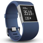Fitbit Surge 智能乐活手环 GPS全球定位 心率实时检测 多项运动模式 智能手表 蓝色L