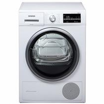 西门子  WT47W5600W 9公斤进口干衣机 LED触摸宽屏 热泵 原装进口(白色)产品图片主图
