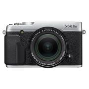 富士 X-E2S 微单相机 单镜套装(XF18-55mm F2.8-4 R LM OIS) (银色)
