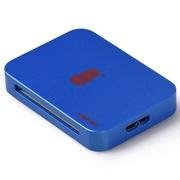 川宇 C366 USB3.0 读卡器 读卡器3.0 多合一 哑光金属漆面 100cm版