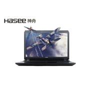 神舟 战神G8-SL7S2 17.3寸笔记本电脑(I7-6700HQ 16G 512G SSD GTX980M Win10)黑色