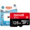 麦克赛尔 智尊高速 MicroSDXC UHS-1存储卡 内存卡 TF卡128G Class10 读速48M B/S产品图片3