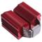 采融  Red Megahalems 红色双子峰CPU散热器(6热管/铝合金扣具/附送PK2导热膏)产品图片4