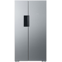 西门子  BCD-610W(KA92NV41TI) 610升 变频风冷无霜 对开门冰箱 竖显触摸屏 旋转制冰盒(不锈钢色)产品图片主图