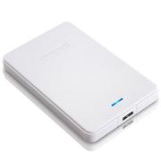 纽曼 星云 500G 液压平衡滚轴系统 防震 安全 稳定 快速 2.5寸 USB3.0 超薄 移动硬盘 皓月白