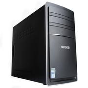 神舟  新瑞K60 D1 台式电脑商用主机(G3260 4G 1T HDD GT730 2G显存)黑