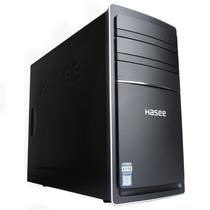 神舟  新瑞K60 D1 台式电脑商用主机(G3260 4G 1T HDD GT730 2G显存)黑产品图片主图