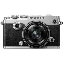 奥林巴斯 PEN-F-1718K(定焦镜头套装) 银色 2000万像素 内置WIFI 五轴防抖 翻转触屏 经典复古产品图片主图