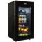 美菱 JC-108BZMS 冰吧 酒柜 家用 商用 客厅厨房 加温除霜(典雅黑)产品图片2