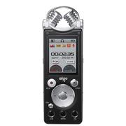 爱国者 R5599 录音笔专业降噪超远距 双麦克 50米无线录音 HIFI播放 2100H 8G  黑色
