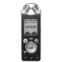 爱国者 R5599 录音笔专业降噪超远距 双麦克 50米无线录音 HIFI播放 2100H 8G  黑色产品图片主图