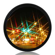 天气不错 星光镜 52mmStar-6 特效6线水字星芒镜 夜景滤镜 适合佳能尼康等单反微单相机镜头