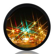 天气不错 星光镜 72mmStar-6 特效6线水字星芒镜 夜景滤镜 适合佳能尼康宾得等单反相机镜头