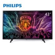 飞利浦 43PUF6056/T3 43英寸 4K超高清智能电视(京东微联APP控制)