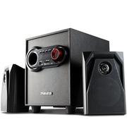 万利达 T58 2.1多媒体音箱 家用音响 黑色