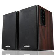 万利达 L81 木质对箱/2.0多媒体音箱 50W超大功率 黑色