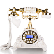 渴望(crave) F015/海洋之星 仿古电话机 复古固定座机 家用欧式 金色高级