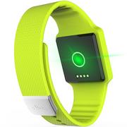 hicling Cling Bio智能运动手表(微信互联+实时心率+体温+铝合金机身+触控屏幕+智能提醒+防水)春天新绿
