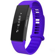 hicling clingband智能手环 运动心率 微信互联 户外触摸屏 来电显示 多项专业运动模式 SOS求救 紫外线监测 神秘幻紫
