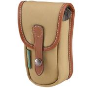 白金汉 AVEA03 经典系列 摄影包 附加袋 (卡其色/褐色皮 帆布款)