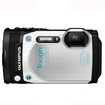 奥林巴斯 TG-870 白色 (水下自拍神器 92万像素180度翻转屏幕 21mm广角 五防)产品图片主图