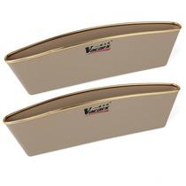 威卡司 VA-565A 汽车椅缝置物盒   手机收纳盒 杂物收纳盒 对装  米色产品图片主图