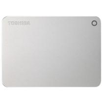 东芝 CANVIO Premium 2TB 2.5英寸 USB3.0移动硬盘 金属银产品图片主图