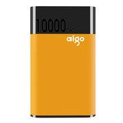 爱国者 快充QC01 移动电源 QC2.0快速充放电 10000mah